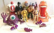 Vintage THE REAL GHOSTBUSTERS FIGURE LOT OF 8 Figures Peter Venkman  KENNER