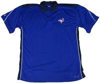 Toronto Blue Jays MLB Majestic Men's Big & Tall Short Sleeve Polo