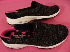 New~SKECHERS~Commute Knitastic~SLIP-ON~comfort SNEAKERS~mule/clog~MEMORY FOAM~10