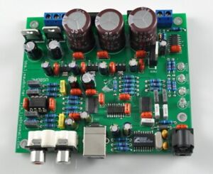 CS4398 DAC with USB optical fiber 24/192K parts chip has been welded