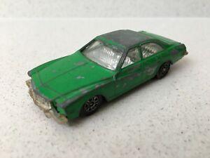 Vintage 1980's CORGI JUNIORS GREEN BUICK REGAL CAR MADE IN GREAT BRITAIN Rare