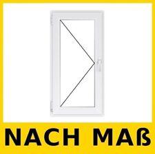 Energiesparen Fenster 73 mm Dreh Links NACH MAß Kunststoffenster Weiß BEST PREIS
