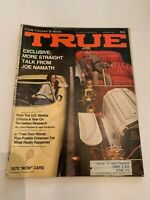 October 1969 True Magazine Joe Namath