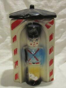 American Bisque Toy Soldier Cookie Jar #743