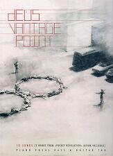 """DEUS """"Vantage Point"""" (PARTITIONS / SHEET MUSIC) 2008"""