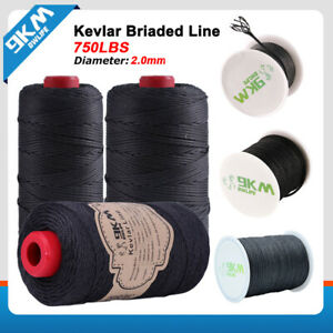 Black Kevlar Cord Sewing Thread Cut-Resistant Heat Resistance Made with Kevlar