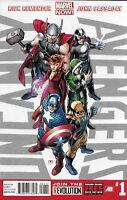 Uncanny Avengers Comic 1 Cover A John Cassaday First Print 2012 Rick Remender