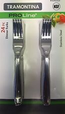 Tramontina Proline Stainless Steel Dinner Forks Higher Quality 24 Pack