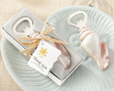 50 Sea Shell Bottle Opener for Wedding Favors Destination Wedding