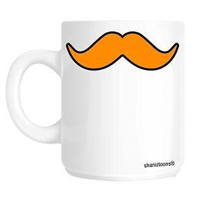 Ginger Moustache Funny Ginger Hair Gift Mug shan417