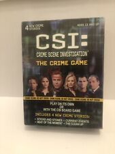CSI: Crime Scene Investigation The Crime Game Ages 13 And Up New