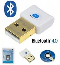 Versión V4.0 USB Bluetooth Dongle EDR Adaptador Inalámbrico para PC Windows 7 Vista XP