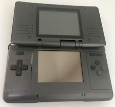 Nintendo DS Original NTR-001 Console with Charger- Graphite Black - Tested Works