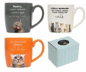 Splosh Playful Pets Cats Assorted Mug to Choose NEW