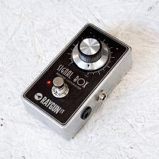 Pistola de rayos Fx-Caja de señal Booster guitarra pedal Hecha A Mano Reino Unido Atenuador Fx