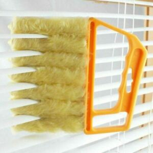 VENETIAN BLIND CLEANER BRUSH DUSTER WITH 7 SLATS WASHABLE EASY TO USE CLEANING