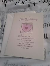 For my sweetheart wedding anniversary card - heart - NEW