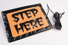 Step Here Pad For Animated Props Haunted House Halloween Decorations B-259