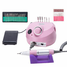 ed01c8db174 Electric Nail Drill File Grinder Machine Manicure Pedicure Professional  Bits Kit