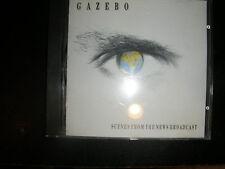 """RARE CD Gazebo  """"Scenes From The News Broadcast"""" Lunatic Records"""