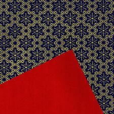 wb70 DUAL-SIDED Color Yuzen washi paper 22x31 cm.