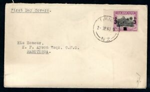 Cook Islands / Niue - 1940 3d Overprint First Day Cover
