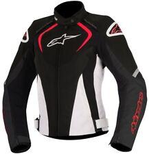 Alpinestars Stella T-jaws mujer WP chaqueta moto - Negro/blanco/rojo XS