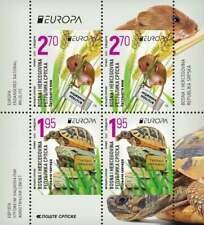 Bosnia&Herzegovina (SERBIA)2021 CEPT Endangered national wildlife booklet