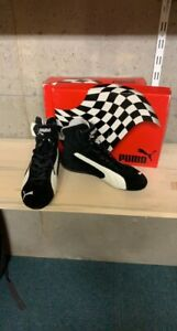 Rare PUMA Racing Repli Cat Collector Black & White EUR EU 44 UK 9,5 US 10,5