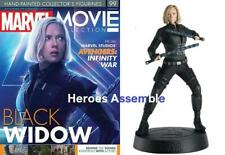 MARVEL MOVIE COLLECTION #99 BLACK WIDOW FIGURINE INFINITY WAR EAGLEMOSS NEW