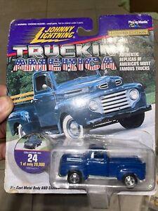 Johnny Lightning Truckin America No#24 1950 Ford F-1