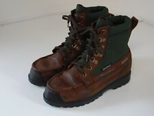 mens browning boots size 6 M canvas and leather