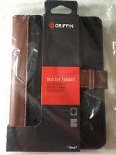 Griffin Nexus 7 Kindle Fire 7.0 e-reader Book folio Case Cover Black brown