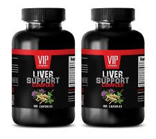immune support supplement - LIVER COMPLEX 1200MG - immune system - 2 Bottles 200