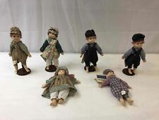 Certificate of Birth American collection 6 pc Porcelain dolls