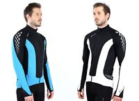 NEW POLARIS VENOM LONG SLEEVE WARM THERMASTRETCH CYCLING JERSEY
