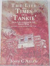 TANKS BRITISH ARMY WW1 Tankie First World War History Machine Gun Tank Corps