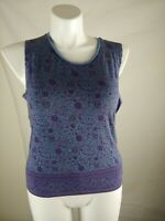 American Eagle Outfitters Womens Soft & Sexy Tank Top blue Size Medium