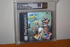 Crash Bandicoot 3 Warped (Playstation) NEW SEALED HOLO COVER MINT VGA 90!