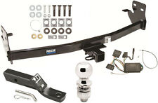 COMPLETE TRAILER HITCH PKG W/ WIRING KIT FOR 2004-12 CHEVY COLORADO & GMC CANYON