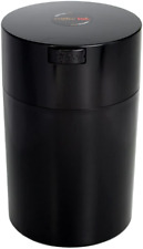 Coffeevac 1 lb - The Ultimate Vacuum Sealed Coffee Container, Black Cap & Body