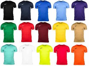 Nike Mens Park VII T-Shirt Top Jersey Gym Football Sports Training S M L XL XXL