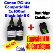 Canon Canon PG40 CL41 Refill Black Ink 2x100ml MP210 MP460 MP450 MP470 MP310