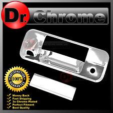 07-13 TOYOTA TUNDRA CREWMAX Chrome Tailgate Handle Cover w.Keyhole+Camera Hole