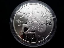 KM# 469 Hologram MILKY WAY 2007 Ukraine 2 Oz Proof Silver Coin Galaxy Space