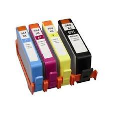 4 Cartouches encre compatibles HP 364 XL AVEC PUCE pour imprimantes de marque HP