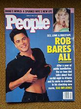 1990 TRUMP DIVORCE, ROB LOWE SEX SCANDAL, HEATHER LOCKLEAR, PEOPLE MAGAZINE