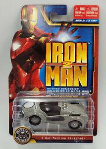 Maisto Iron Man 2 DieCast Collection War Machine ( Armored ) 1:64 Scale