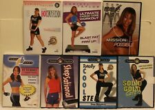 7 Christi Taylor workout DVD lot Totally Cool Step sational hot cadrio fit dance