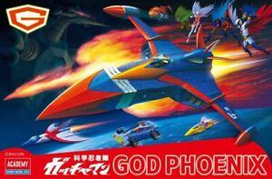 Academy Science Ninja Team Gatchaman God Phoenix plastic model 15792S